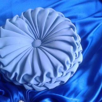 Декоративна подушка ручної роботи Blue