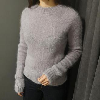 Bregoli design серый джемпер свитер кидмохер размер XS-S
