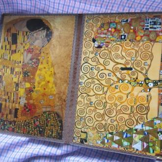 Обложка на паспорт Картины Г. Климта