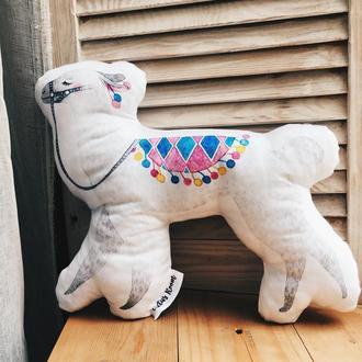 Подушка игрушка Лама