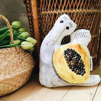 Подушка Улитка фруктовая