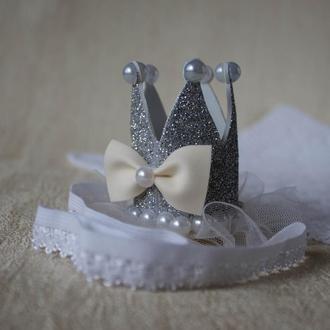 Корона (коронка) из фоамирана или фетра для ВАШЕЙ принцессы!
