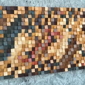 Настенное панно из дерева DABO Gold DS11 150х75 см