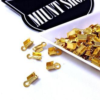 Зажим для шнура Золото
