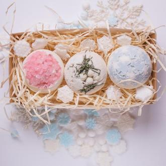 Зимовий набір бомбочек для вани від Світ Мила