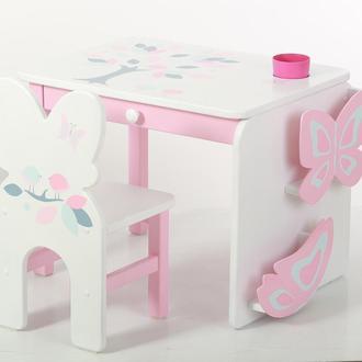 """Дитячий столик і стільчик """"Пташенята"""""""