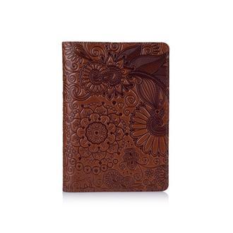 "Обложка для паспорта  HiArt PC-01 Crystal Amber ""Mehendi Art"""