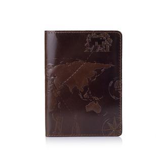 "Обложка для паспорта  HiArt PC-01 Crystal Olive ""7 Wonders of the World"""