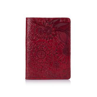 """Обложка для паспорта  HiArt PC-01 Crystal Red  """"Mehendi Art"""""""