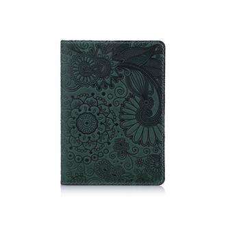 "Обложка для паспорта  HiArt PC-01 Shabby Alga ""Mehendi Art"""