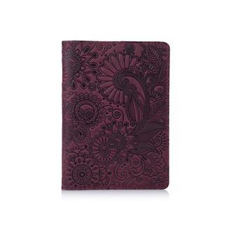 "Обложка для паспорта  HiArt PC-01 Shabby Plum ""Mehendi Art"""