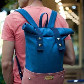 Рюкзак Roll Top Veggie из хлопка высокой плотности