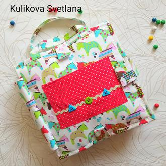 Развивающая книжка- сумка  Семья.