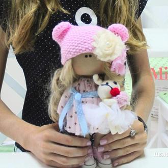 Интерьерная куколка-кролик