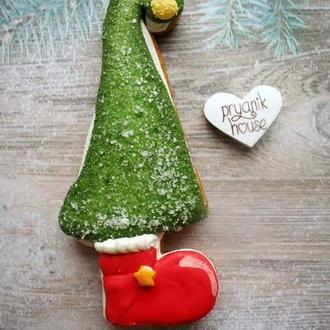 Новогодний пряничный сувенир. Альтернатива обычной елке)