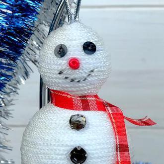 Ёлочные украшения, снеговик