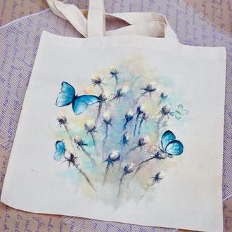 """Эко-сумка """"Бабочки"""""""