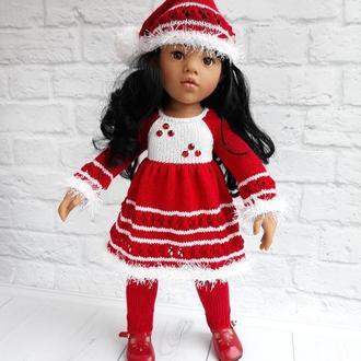 Одежда на куклу Готц Ханна 50 см Новогодний комплект