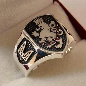 Перстень ′ГАЛИЦЬКИЙ ЛЕВ′ (срібло)