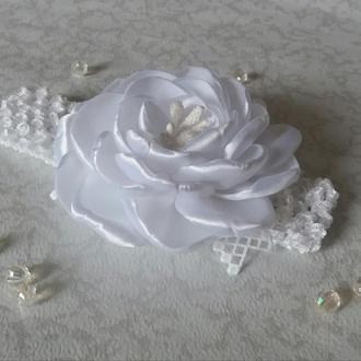 """Пов'язка """"Біла троянда"""""""