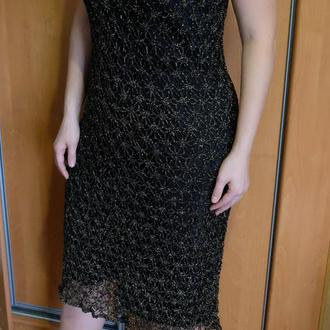 Платье нарядное крючком // Сукня нарядна гачком