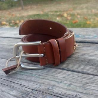 Ремень кожаный