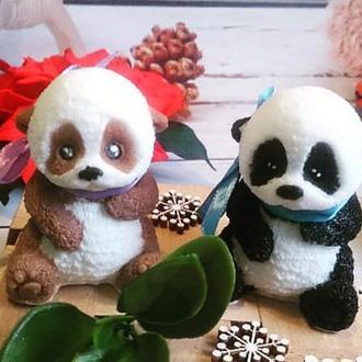 """Мыло ручной работы """"Панда"""""""