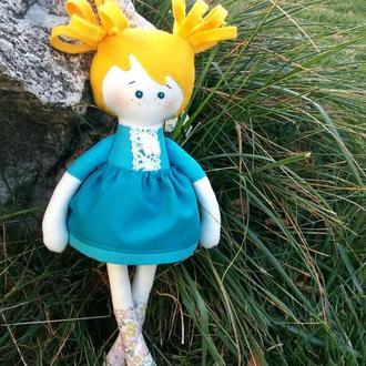 Оригинальная кукла Енночка HandMade Неповторимая кукла такой больше нету, все куклы разные, что дела