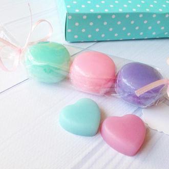 Мыло мини макарон в конфетке