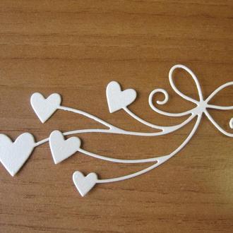 Подвеска сердечки