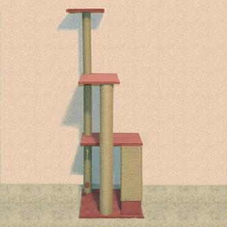 Когтеточка-Игровой комплекс 160см высотой