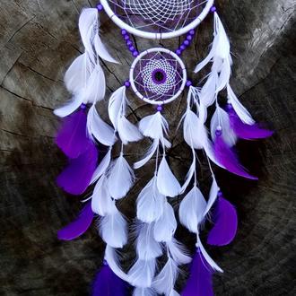 Ловец снов бело-фиолетовый.