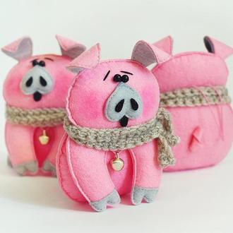 Свинка. Игрушка-сувенир.