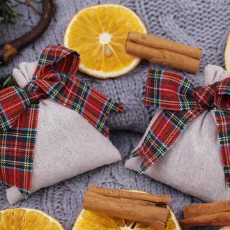 Рождественские саше. Подарочный набор.