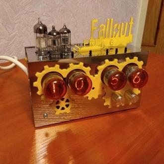 Ламповые часы Fallout (zm1020) | Nixie Clock Fallout (zm1020) | Настольные часы