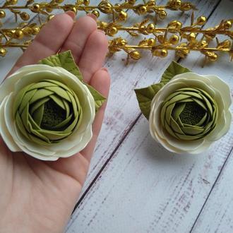 Лютик из фоамирана на резинке, Цветы на резинке, цветы для волос
