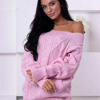 Стильный объемный свитер
