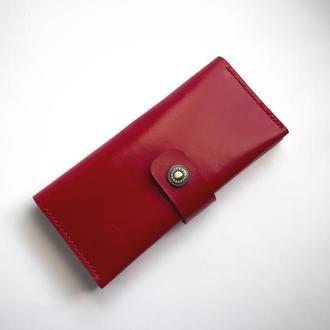 Кожаный женский кошелек из мягкой кожи