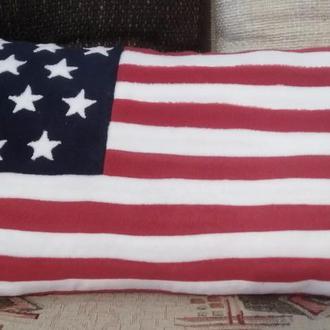Подушка американский флаг