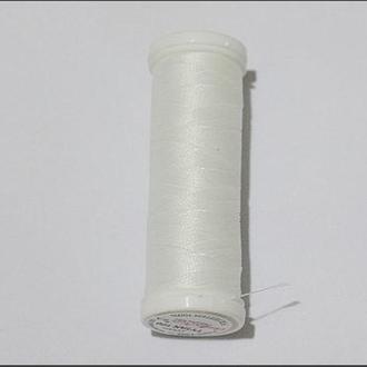 Нить для вышивки бисером Титан Ariadna 200-2500. Цвет белоснежный