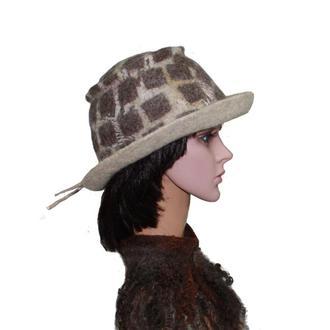 """ Дакота "" шляпа унисекс - авторский войлок"