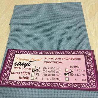 Канва Белорусская К5,5 (55кл./10 см) соответствует Аида 14