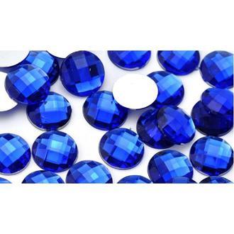 Камень клеевой 16мм синий