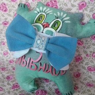 Галстук-бабочка для кошки
