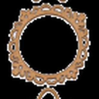 Набор декоративних элементов для шедоубокса №43