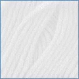 Пряжа для вязания Valencia Laguna,   0601 (White) цвет, 12% вискоза эвкалипт, 10% хлопок, 78% микроволокно