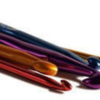 Крючок для вязания металлический 9мм