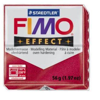 Полимерная глина FIMO Effect, металлик рубин (56г) STAEDTLER. 28/8020