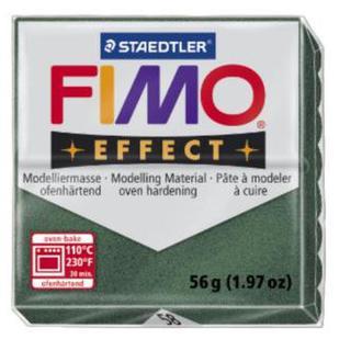 Полимерная глина FIMO Effect, металлик зеленый опал (56г) STAEDTLER. 58/8020