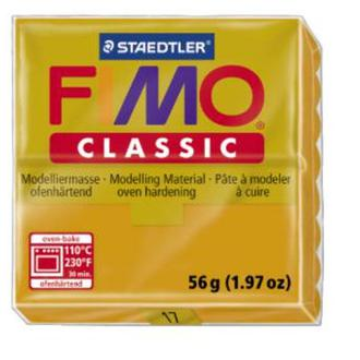 Полимерная глина FIMO Classic, охра, (56гр) STAEDTLER. 17N/8000